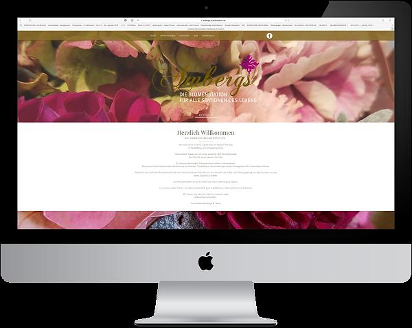 Grafikdesign Portfolio Ambergs die Blumenstation