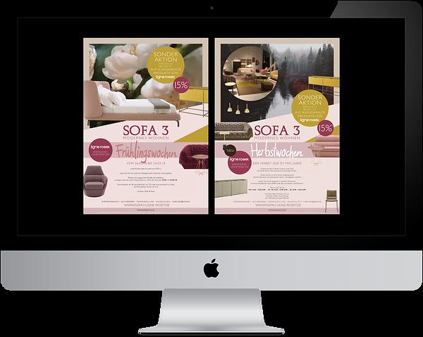 Grafikdesign Portfolio Sofa3 Ligne Roset