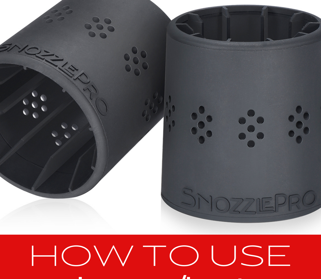 How to use your SnozzlePro