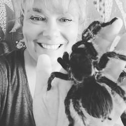 Just a girl and her tarantula! #tarantul
