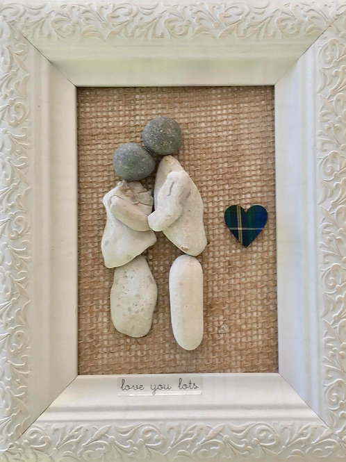 """Love You Lots"" Original Art - Nature's Best Rocks"