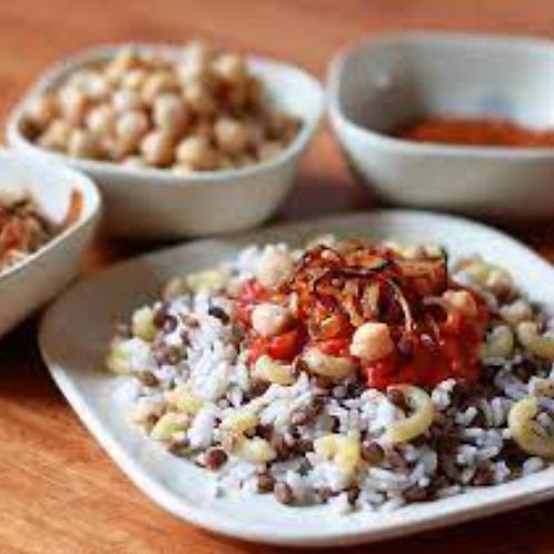 Koshary (Vegan) - Bluebird Kitchen