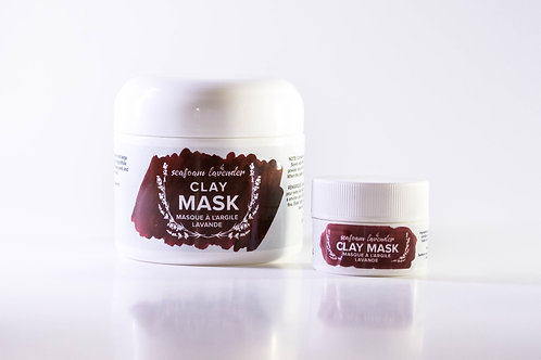 Clay Mask - Seafoam Lavender Company
