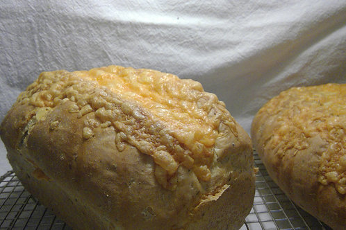 Artisan Cheese Bread - The Community Baker