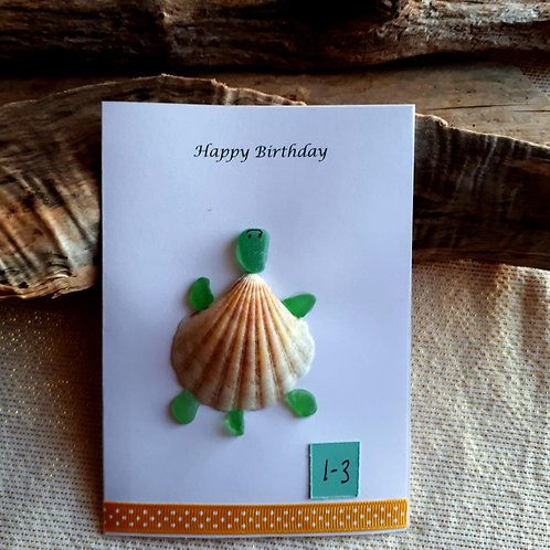 Greeting Card (Happy Birthday 1-3) - Sea to Shore