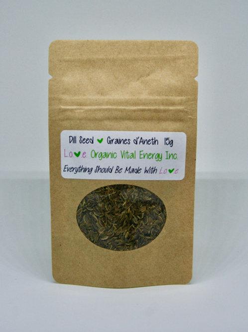 $3 ORGANIC Herbs (Choose Type) - Love Organic Vital Energy