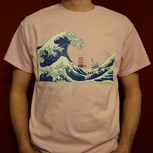 Great Wave of Dartmouth T-Shirt - Big Dartmouth Energy