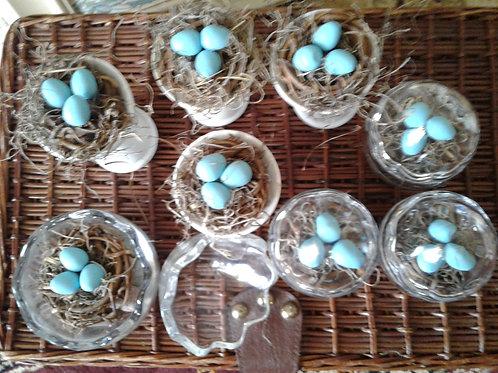 """Nest In Birdbath"" Decoration - Yodi Originals"