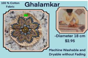 Ghalamkar (Table Cloths) - Prized Importers