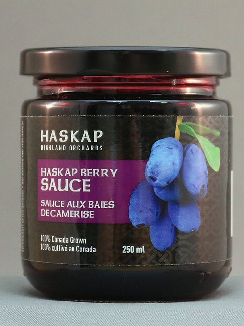 Haskap Berry Sauce (250 ml)- Haskap Highland Orchards