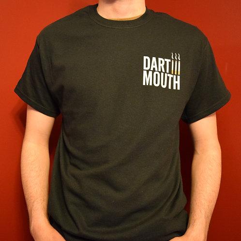 Dartmouth Cigarette T-Shirt (Black) - Big Dartmouth Energy