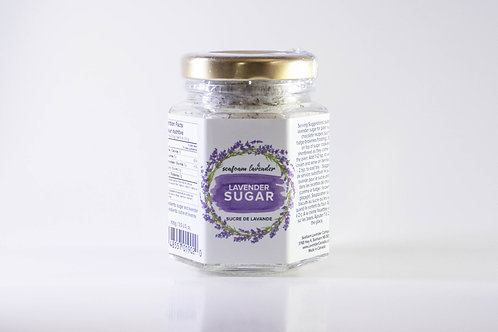 Lavender Sugar (100g) - Seafoam Lavender Company