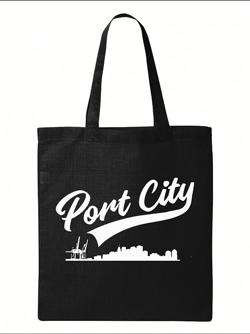 Flat-Bottom Shopping Bag - Port City Coffee