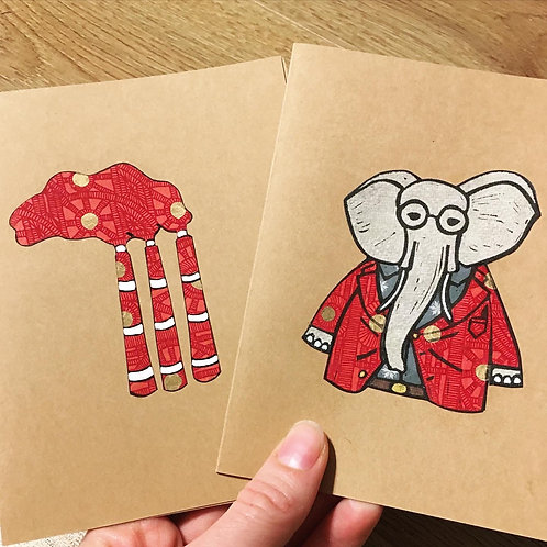 Hand Printed Cards - Stamp Satisfaction