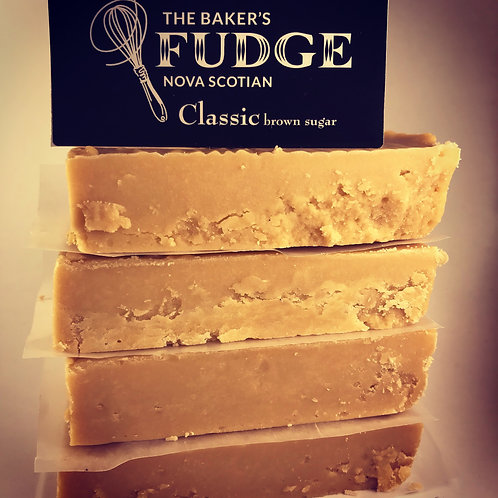 Classic Brown Sugar Fudge (150g) - The Baker's Fudge
