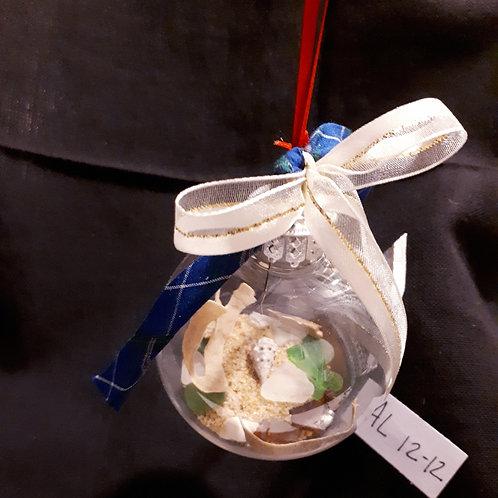 Sea Glass Christmas Tree Ornaments (AL-12-12) - Sea to Shore