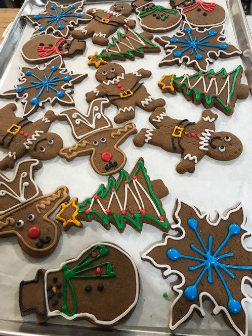 German Gingerbread Cookies - The Cake Lady