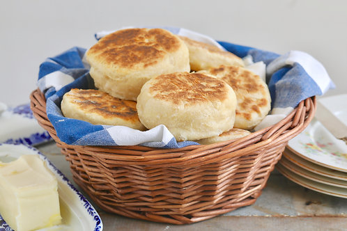 English Muffins (6 Pk) - Aly Mae's Bread Basket