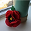 Thumbnail: Felted Poppy Brooch  - Magic of Wool