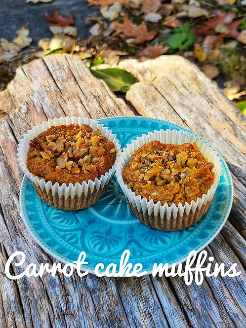 Carrot Cake Muffins - Lively Bakery
