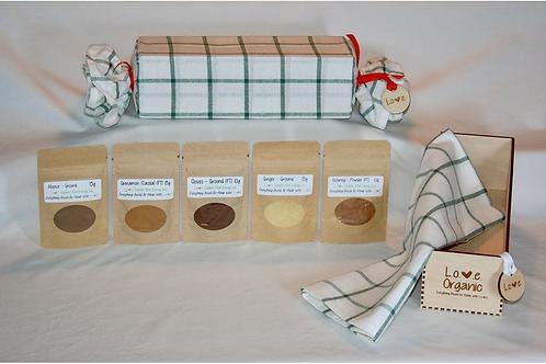 L.O.V.E. Organic Gift Box (Bakers) - Love Organic Vital Energy
