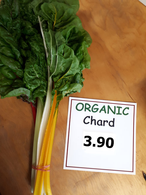 Organic Swiss Chard (bunch) - Bernhard Loewins