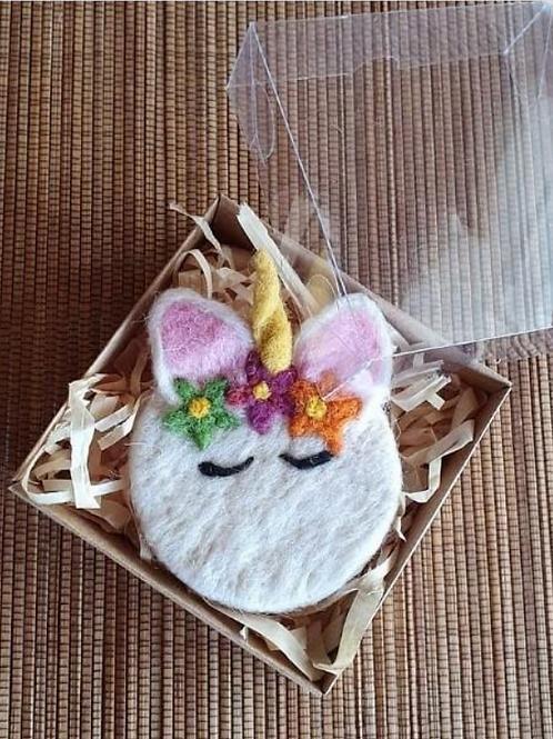 Felted Soap - Unicorn - Magic of Wool