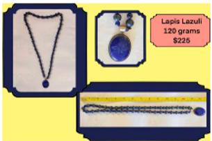 Lapis Lazuli (120 grams) - Prized Importers