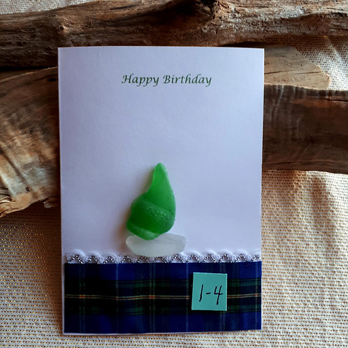 Greeting Card (Happy Birthday 1-4) - Sea to Shore