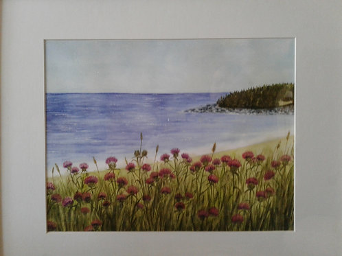 "New Watercolour Print ""On the Banks of Kennington Cove""  - Yodi Originals"