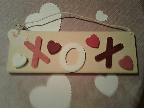 XOX wooden sign - Yodi Originals