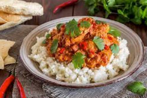 Bluebird Kitchen Lunch Box #1 (Curry and Grape Leaves) -Bluebird Kitchen