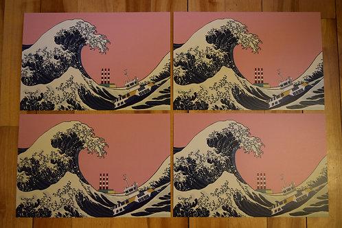Great Wave of Dartmouth Print - Big Dartmouth Energy