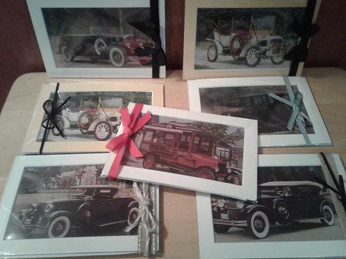 Magnetic Art Cards - Vintage Car Collection - Yodi Originals