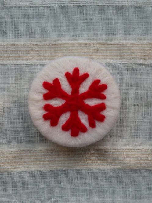 Felted Soap (Gingerbread Man) - Magic of Wool