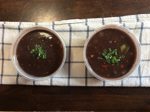 Black Bean Soup (Reg or Large) - O'Cubano Cafe & Catering