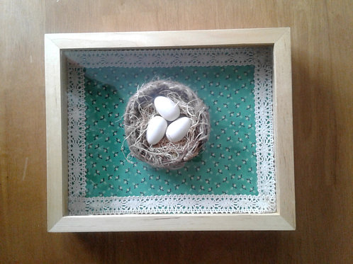 8 x 10 Nesting Instincts Wall or Table-top Art - Yodi Originals