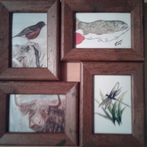 Tiny Art  (from a selection of original watercolours) - Yodi Originals