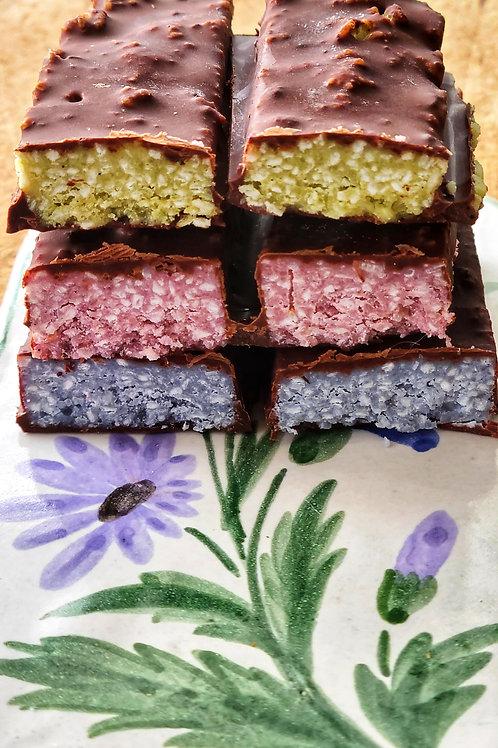 Raw Bounty bars Box of 6 (G/F, D/F, Sugar-Free) - Lively Bakery
