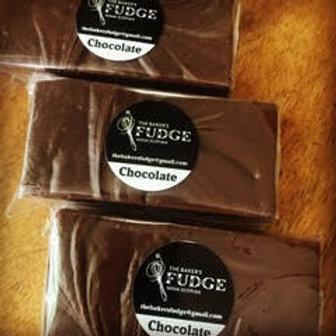 Chocolate Fudge - The Baker's Fudge
