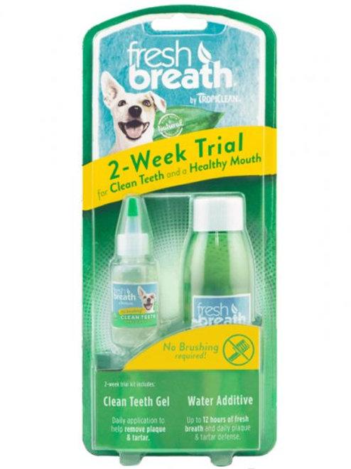 TropiClean Fresh Breath Two-Week Trial Kit - PAWS 4 Health