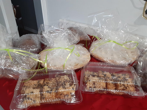 Date Squares - Amanda's Homemade Sweets