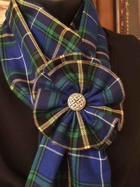 Nova Scotia Tartan Rosette Brooch - Tartan Gal Designs