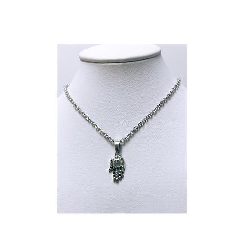 Pendant Silver- Fatima Hand - Elements By Drala
