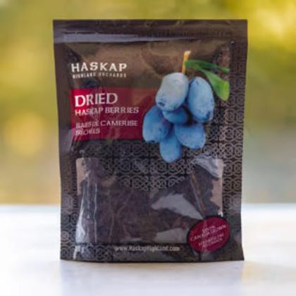 Dried HASKAP Berries (100 g) - Haskap Highland Orchards