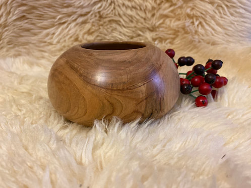 Maple Spherical Bowl (Inv 19-22)- Rotational Matters Wood Turning