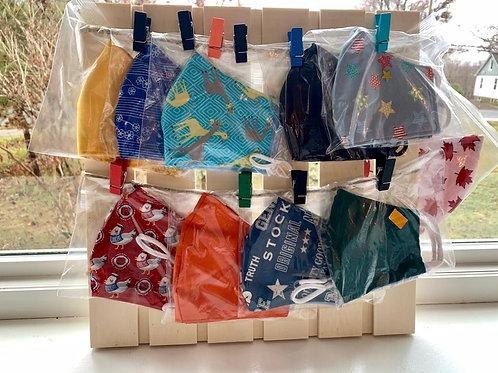 Custom-made Cloth Face Masks - Cross Harbour Nosh