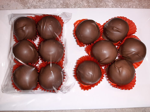 Gluten-free, dairy-free Peanut Butter Balls (dozen) - Karyn's Cookies & Treats