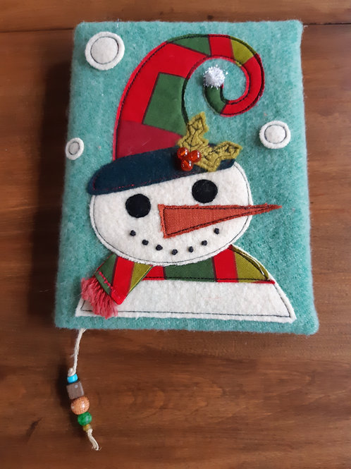 Snowman Journal Cover - Meraki Designs