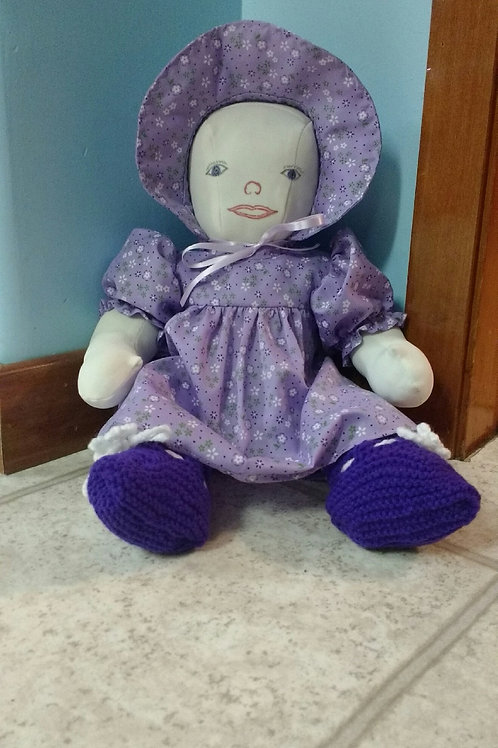 Homemade Doll (16 inches tall) - Maria and Lydia